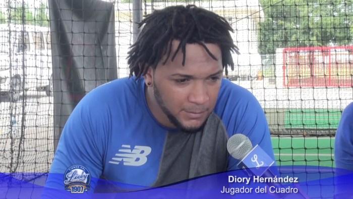 Diory Hernández se siente comprometido con Licey