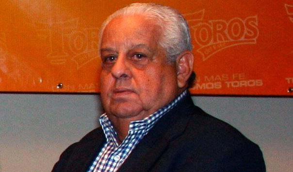 Toros del Este de luto por fallecimiento de su ex-vicepresidente Homero Saviñón