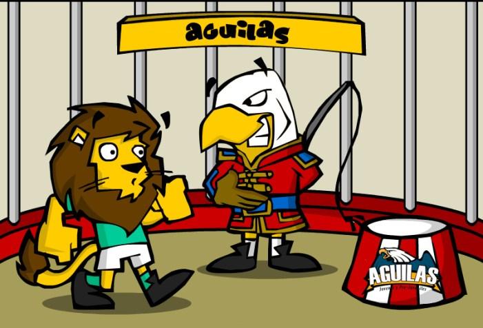 Águilas vencieron a los Leones el domingo