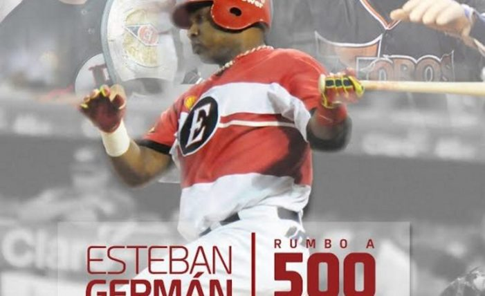 Esteban Germán: Rumbo a los 500 hits