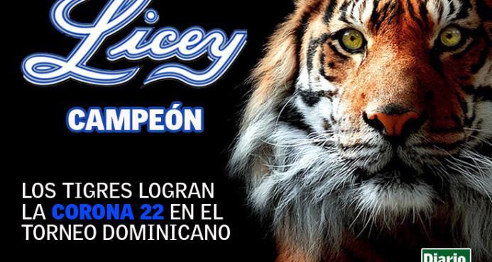 ¡Licey campeón! Tigres Logran su corona 22