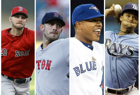 La grandes rotaciones en el Este de la Liga Americana