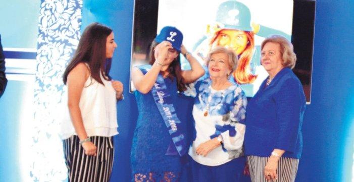 Gabriela Moore Emocionada por ser la madrina del Licey