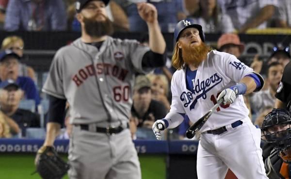 Kershaw y Turner ponen arriba a Dodgers en la Serie Mundial