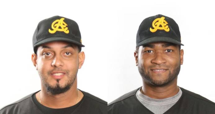 Las Águilas Cibaeñas dejan en libertad a Ricardo Nanita y Nelson Payano