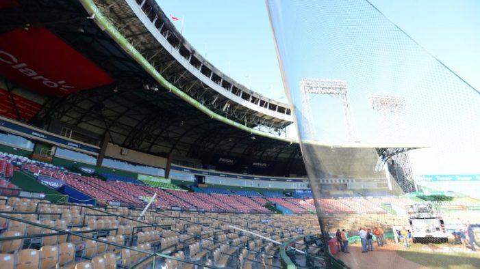 MOPC comenzó reparaciones en el Estadio Quisqueya