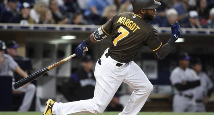 Manuel Margot superó todas las expectativas con los Padres de San Diego