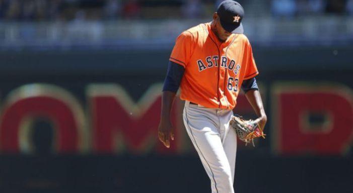 El Dominicano David Paulino de los Astros habla de su suspensión por dopaje