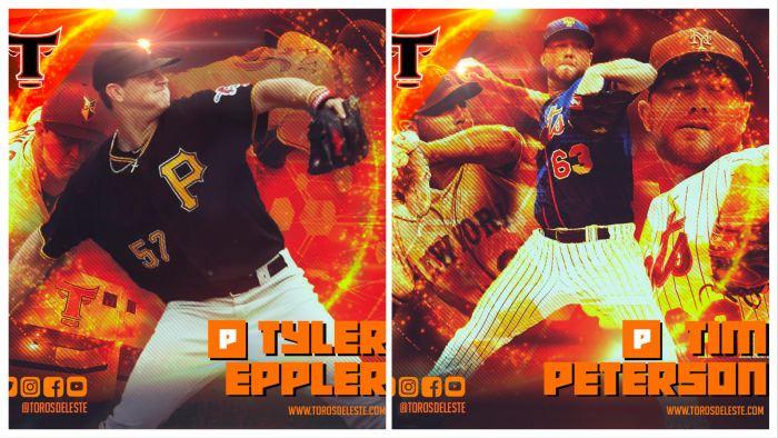 Toros completan cuota de importados con Eppler y Peterson