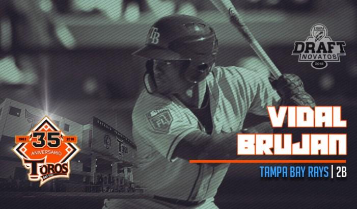 Vidal Bruján primer pick de los Toros del Este en Draft de Novatos 2018