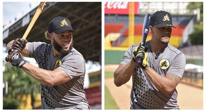 JC Pérez, Lagares y Peña entrenan con las Águilas