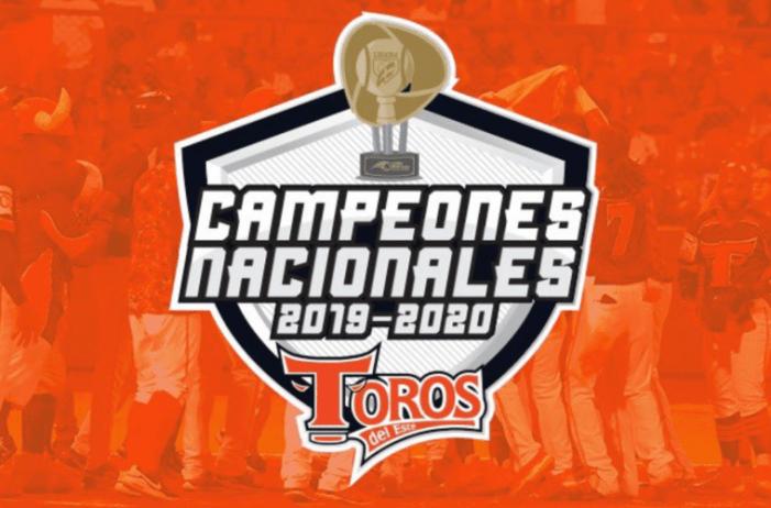 Toros del Este campeones del Torneo Otoño Invernal 2019-2020