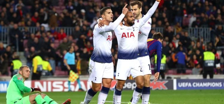 lucas moura marchează golul victoriei pentru a ajuta totenham să se califice în champions league