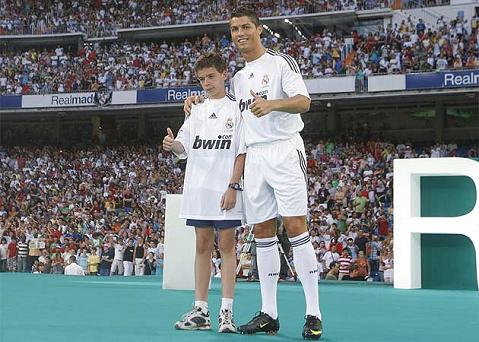 Fotos de la presentacin de Cristiano Ronaldo