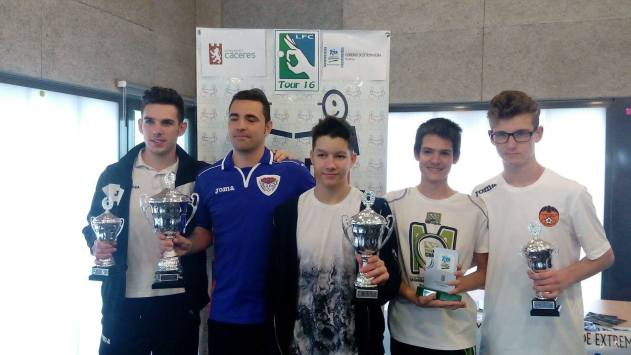 Podium Open de Cáceres 2016