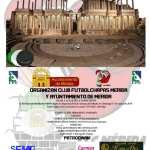 INSCRIPCIONES ABIERTAS PARA EL IX OPEN DE MÉRIDA 2019 (IV MEMORIAL ISIDORO PLAZA)