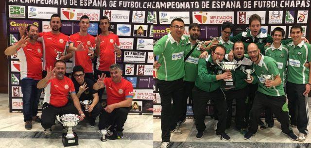 Equipos de Campamento y Móstoles, Campeones y Subcampeones de España 2016