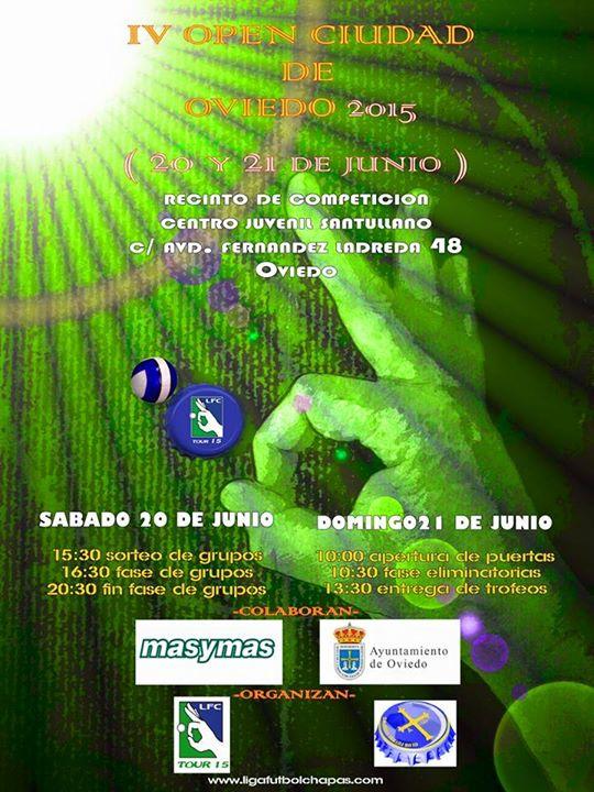 Cartel IV Open Asturias