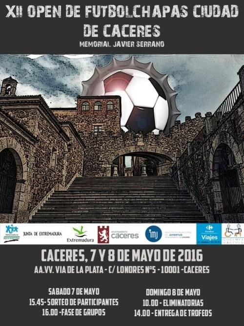 Cartel XII Open Cáceres