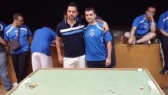 David y Jose antes de la final