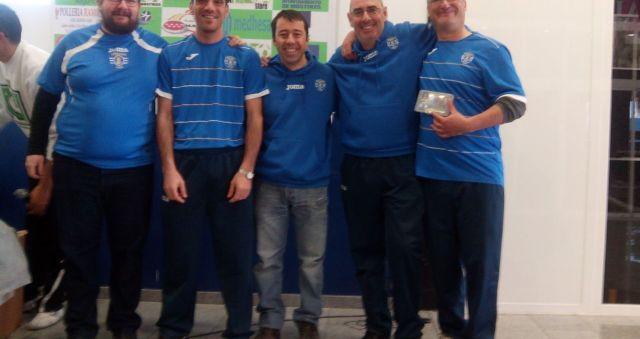 Miembros del Club LFC Alcalá, ganadores del Open por Equipos