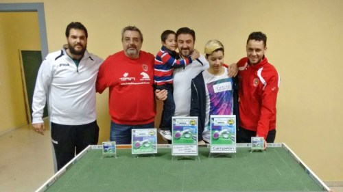 Pódium V Open de Mérida 2016