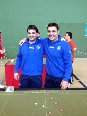 Sergio y Jose antes de las semis