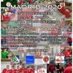 INSCRIPCIONES ABIERTAS PARA EL XVIII OPEN DE MADRID 2020