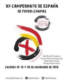 Cartel del XII Campeonato de España 2016