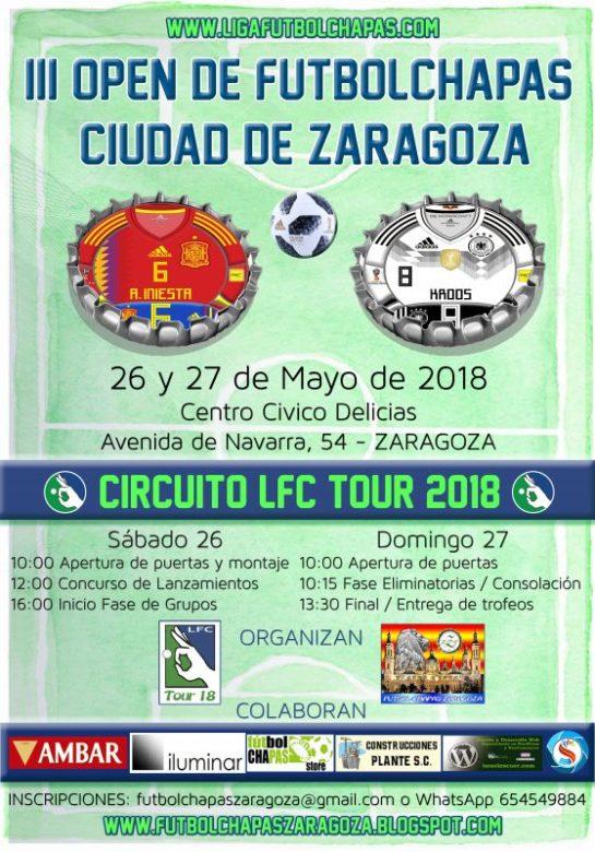 Inscripciones Abiertas Para El Iii Open Ciudad De Zaragoza 2018