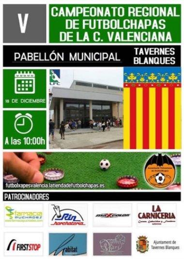 Cartel del próximo Autonómico Valenciano