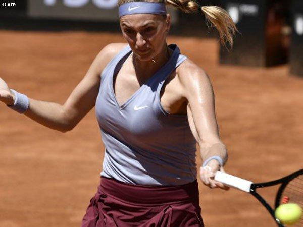 Petra Kvitova Tumbangkan Magda Linette Di Roma