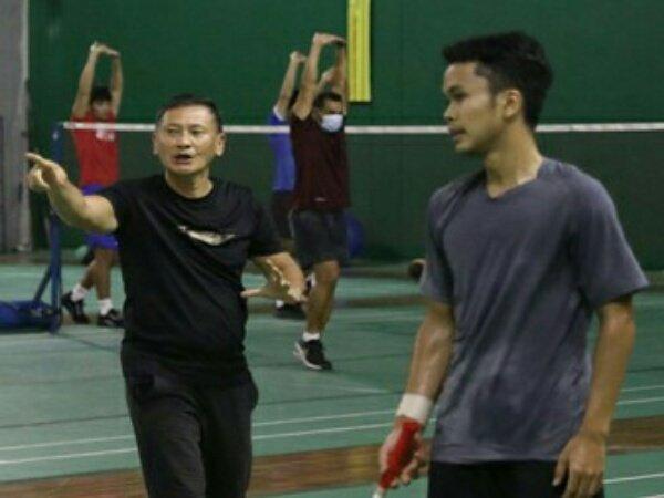 Jelang Olimpiade Tokyo, Skuat Tunggal Putra Indonesia Asah Konsistensi