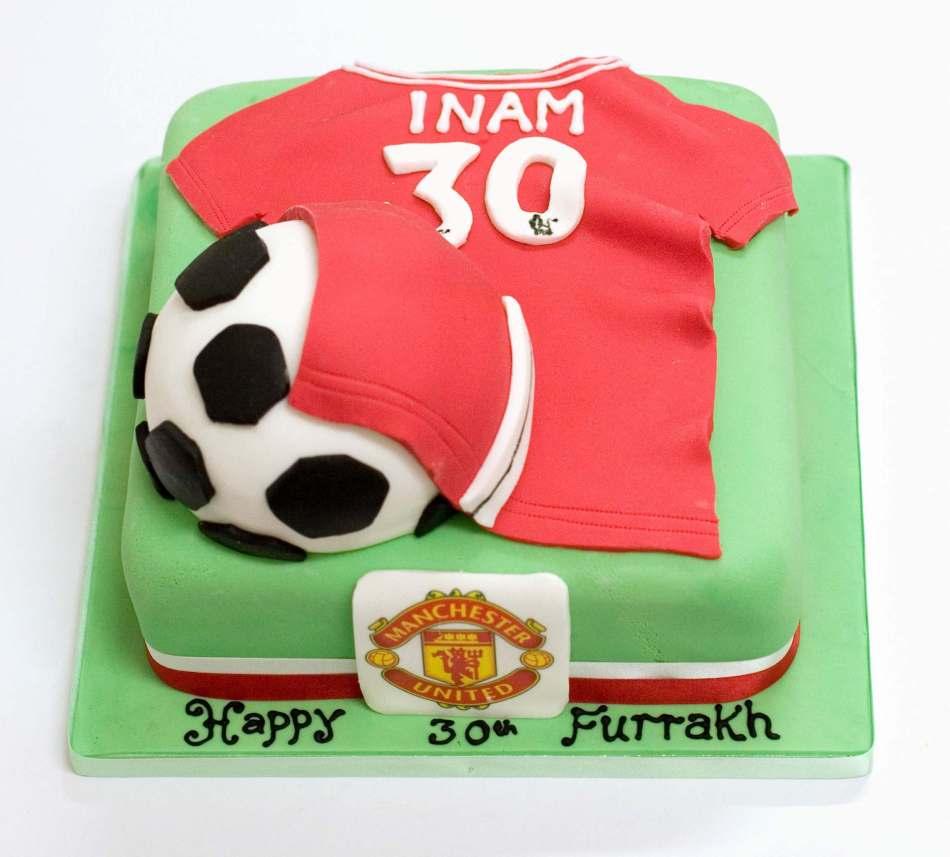 Football Cakesoccer Cakeboys And Mens Birthdayedinburghglasgow