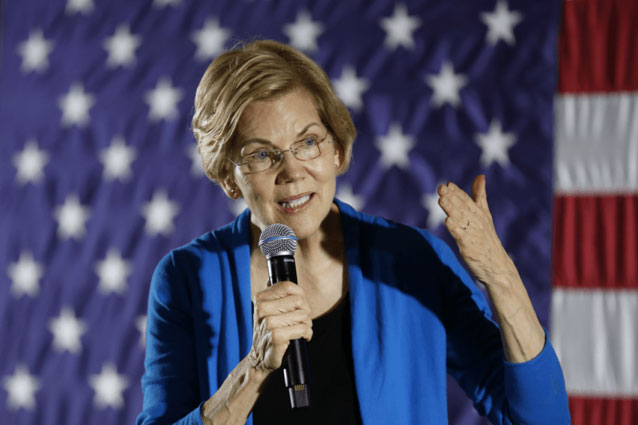 Elizabeth Warren Unveils Plan to Radically Reform the Pentagon