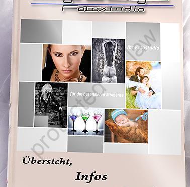 Unsere Info-Broschüre für Euch, mit Shooting Infos