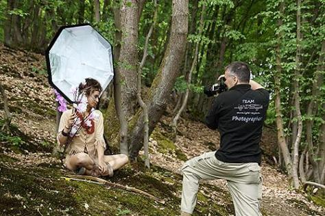 , Unsere Pocahontas – Interpretation , die ersten Shots, Fotostudio Light-Style`s Blog