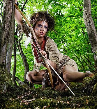 Unsere Pocahontas – Interpretation , die ersten Shots