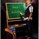 Justins 1. Schultag - Die wilde Bestie ;-) - tierportraets, portraets, allgemein - Tierfotos, Hundeporträts, Hunde