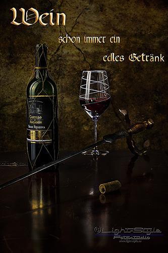Wein 2 - Mal wieder etwas Braves ;-) - allgemein - Werbefotos, Produktfotos, Infos, Businessfotos