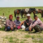 Mongolei 2003 110 - Sunshine , my only sunshine.......... - status - Porträts, outdoor, Geschenke, Draußen
