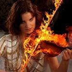 Feuergeige - Happy halloween - rund-um-rodenbach, portraets, funstuff, besondere-portraets, abseits-des-alltags - Karneval, Halloween, Fasching