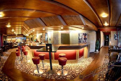 Die Bar des Bastei-Hotels, das Bier hat geschmeckt ;-ä)