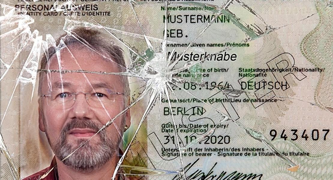 defekter Ausweis 1 - Passfotos nur noch vom Amt? nicht mit uns!! - status, service-fuer-fotografen, persoenliche-meinung, offene-worte, fotorecht, allgemein, alles, abseits-des-alltags - Passfotos