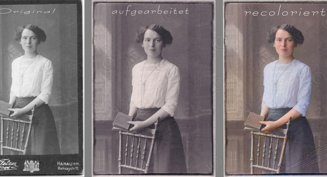 alte Fotos recolorieren - Alte Fotos aufarbeiten - service-fuer-fotografen, portraets, besondere-portraets, alles - Restauration, recolorierung, Alte Fotos
