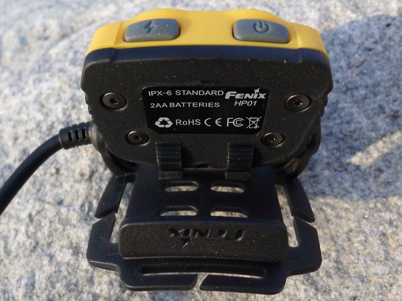 Fenix HP01 - head align system