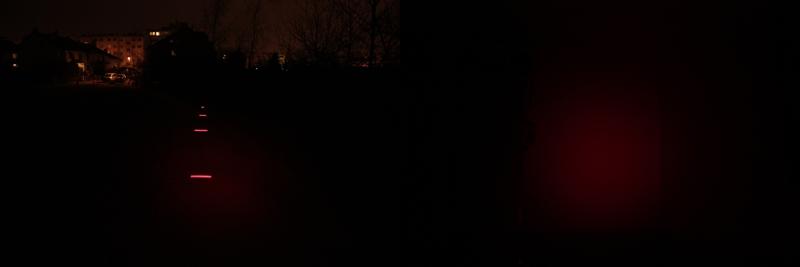 Petzl Tikka R+ red light