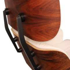 Eames Style Lounge Chair And Ottoman Rosewood Black Leather French Bedroom Ebay White Charles Ray