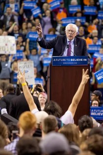 bernie-sanders-and-victorious-fan