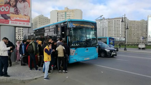 Tangier I-3 bus stop